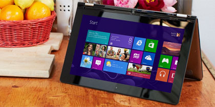 Take a look at the vibrant, beautiful Windows 8.