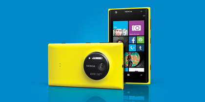 Get the 41 MP Nokia Lumia 1020 today.