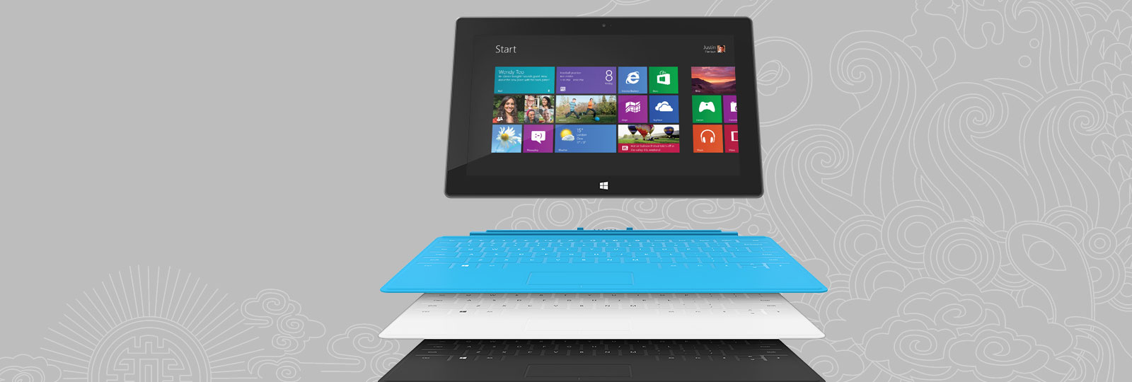 Få et gratis Touch Cover når du kjøper en Surface RT.